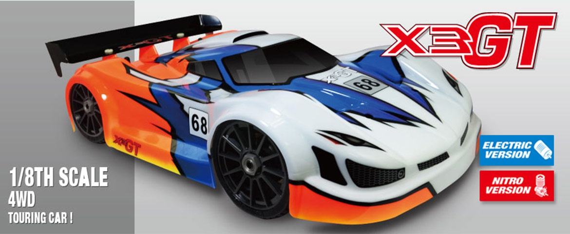 Hong Nor X3GT versión nitro o brushless