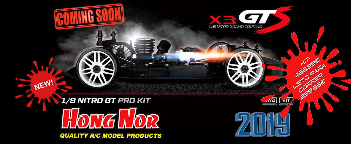 Hong Nor GTS nitro competición RC