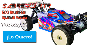 SABRE X3 RTR ECO - Spanish Version